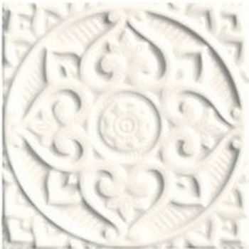 Adex ADEH4004 Earth Relieve Mandala Energy Navajo White 15x15