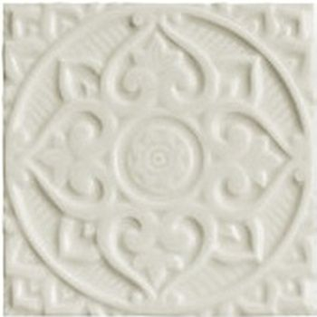Adex ADEH4016 Earth Relieve Mandala Energy Ash Gray 15x15