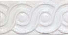 Adex ADMO4078 Relieve Clasico Blanco 7,5x15