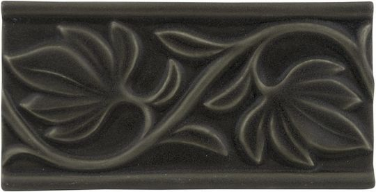 Adex ADNT5029 Relieve Hojas Charcoal 7,5x15