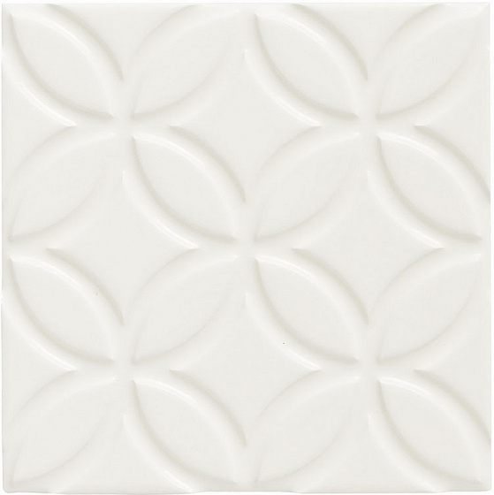 Adex Neri ADNE4126 Relieve Botanical Biscuit 15x15