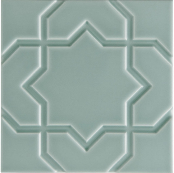Adex ADNE4149 Liso Star Sea Green 15x15