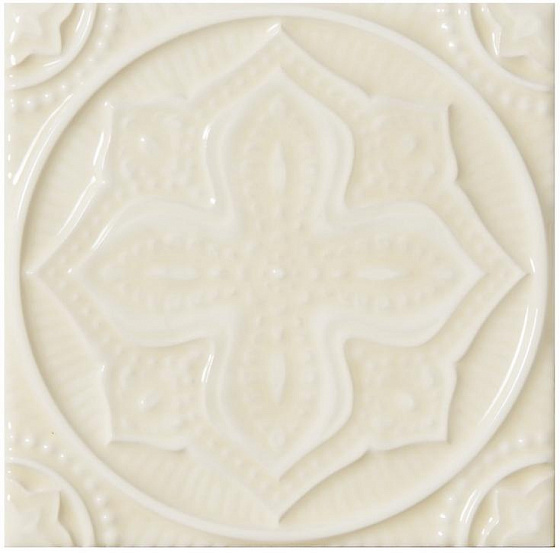 Adex ADST4097 Studio Relieve Mandala Planet Almond 14,8x14,8