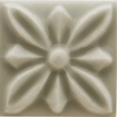 Adex Studio ADST4059 Taco Relieve Flor №1 Graystone 3x3