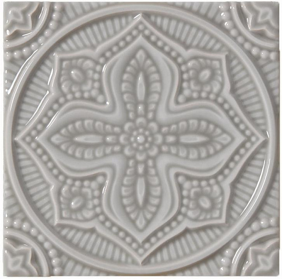 Adex ADST4073 Studio Relieve Mandala Planet Graystone 14,8x14,8
