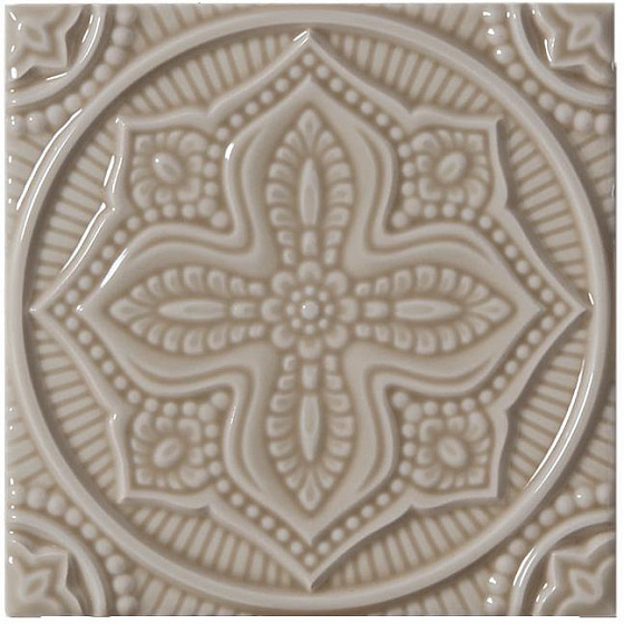 Adex ADST4094 Studio Relieve Mandala Planet Silver Sands 14,8x14,8