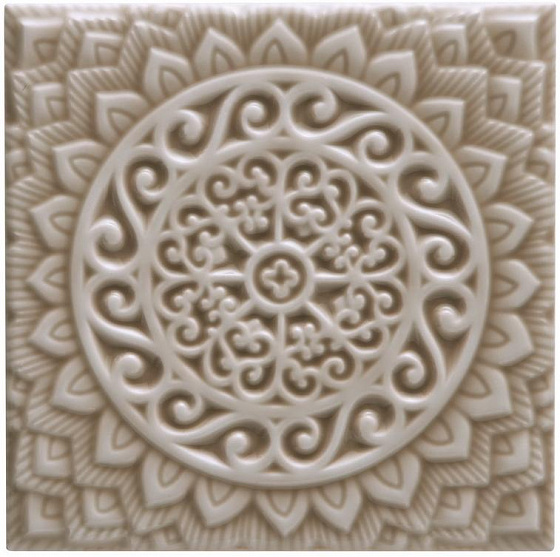Adex ADST4100 Studio Relieve Mandala Universe Silver Sands 14,8x14,8